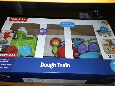 Lot 5050 FISHER PRICE TRAIN DOUGH SET  RRP £25.00