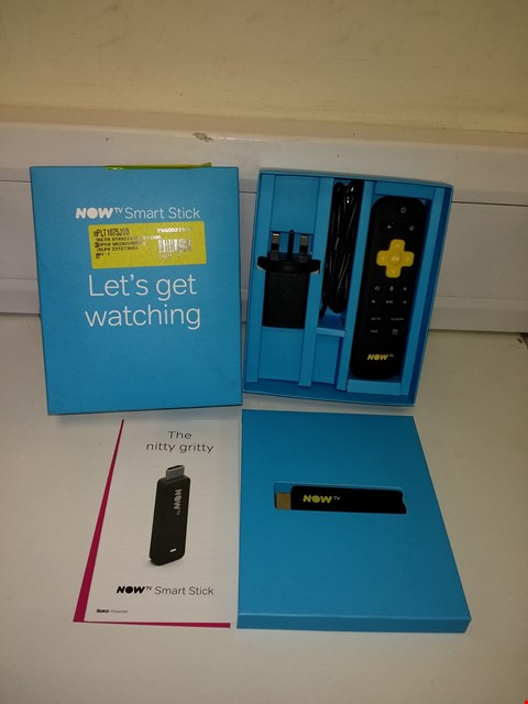 Lot 3004 NOW TV SMART TELEVISION STREAMING STICK