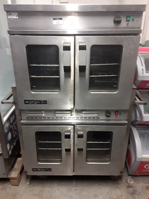 Lot 2003 CHEF AIRE M LINE PLUS COMBINATION GAS OVEN