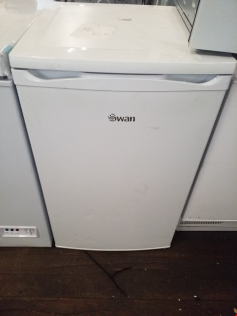 Lot 8574 SWAN UNDER COUNTER FREEZER WHITE