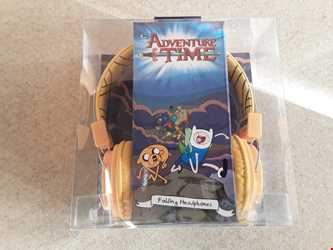 Lot 125 BRAND NEW BOXED ADVENTURE TIME FOLDING HEADPHONES