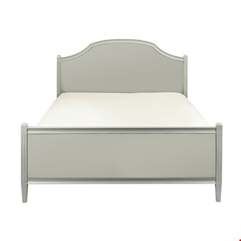 Lot 95 CONTEMPORARY DESIGNER BOXED ABELLA 5' BED FRAME IN A HAZE FINISH (2 BOXES) RRP £1098.00