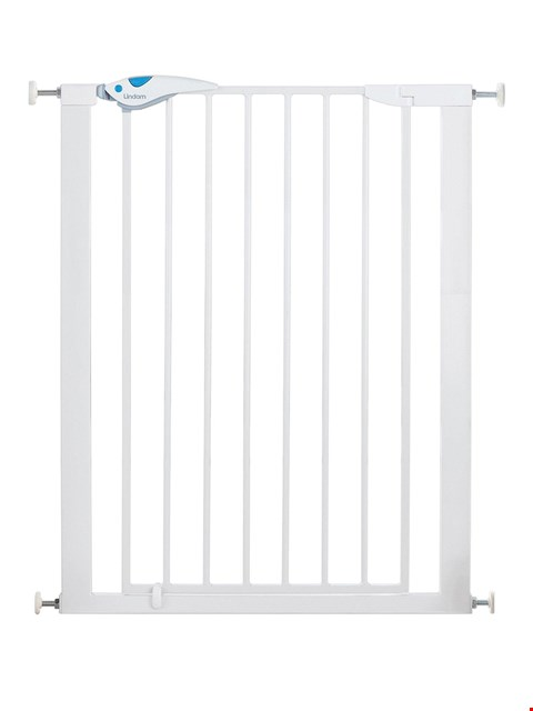 Lot 1610 BRAND NEW BOXED LINDAM EASY-FIT PLUS DELUXE TALL PRESSURE-FIT SAFETY GATE (1 BOX) RRP £34.99