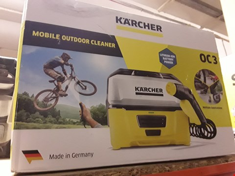 Lot 2289 KÄRCHER OC3 PORTABLE CLEANER, 6 V