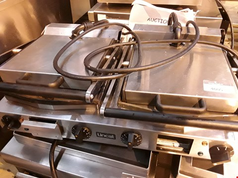 Lot 3107 LINCAT DOUBLE ELECTRIC PANINI/CONTACT GRILL