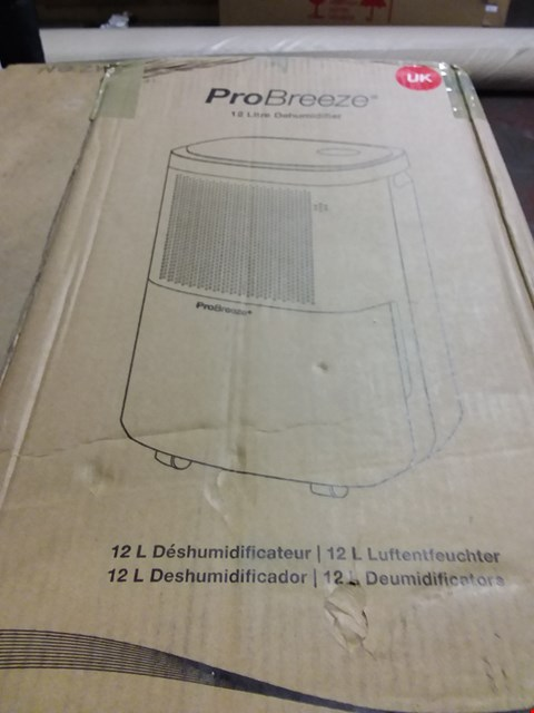 Lot 1140 PROBREEZE 12L DEHUMIDIFIER
