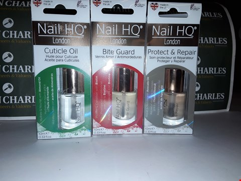 Lot 85 LOT OF 3 ASSORTED NAIL HQ PRODUCTS