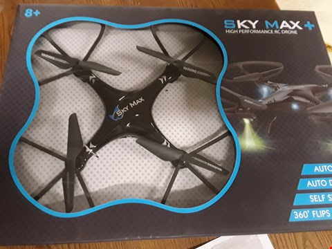 Lot 919 SKYMAX PLUS DRONE WITH STORAGE BAG