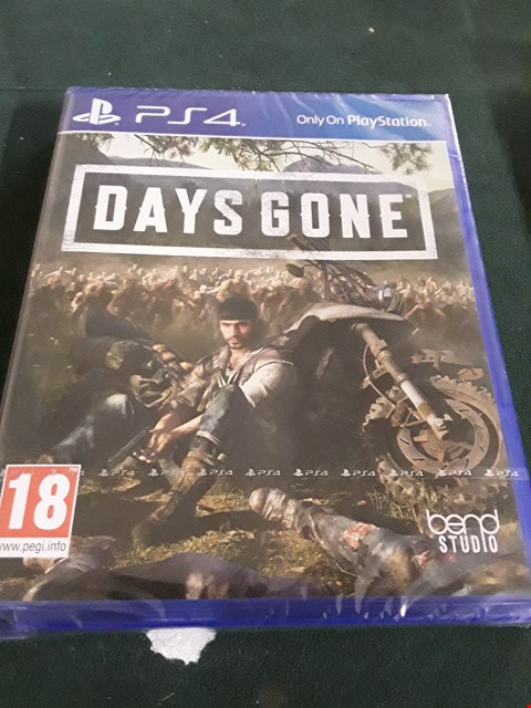 Lot 18022 DAYS GONE PS4 GAME RRP £65.00
