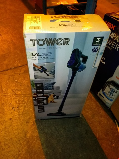 Lot 5508 TOWER VL30 CORDLESS VACUUM CLEANER