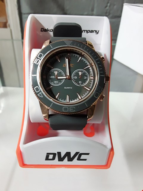 Lot 8017 DWC ROSE GOLD AND GREY MEN'S WATCH