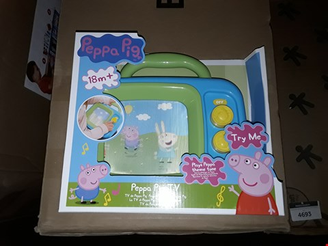 Lot 4744 PEPPA PIG MY FIRST TV