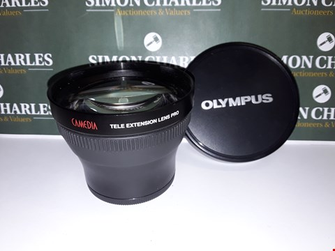 Lot 323 UNBOXED OLYMPUS CAMEDIA TELE EXTENSION LENS  - TCON-14B