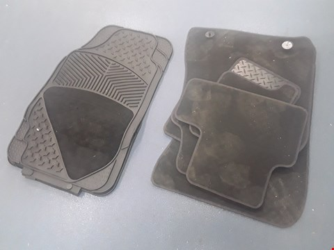 Lot 55 TWO SETS OF TAILORED CAR MATS