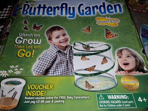 Lot 508 INSECT LORE ) BUTTERFLY GARDEN
