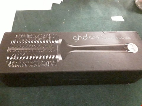 Lot 18017 GHD NATURAL HAIRBRUSH SIZE 4 RRP £24.99