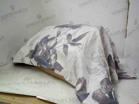 Lot 1329 A BOX OF ASSORTED PURPLE PILLOW CASES