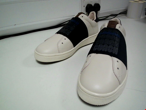 Lot 3568 BRAND NEW COACH G3876 BAND STRAP TRAINERS SIZE 7.5D