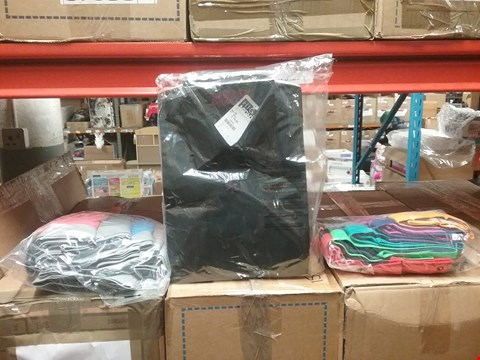Lot 1323 LOT OF 8 BOXES CONTAINING APPROXIMATLEY 200 ASSORTED CLOTHING ITEMS TO INCLUDE CAPSULE MEN BOXERS, CITY BLACK SHIRT AND WILLIAMS & BROWN LONG SLEEVE SHIRT