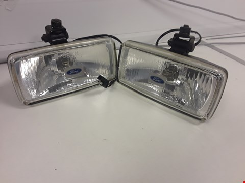 Lot 72 PAIR UNBOXED FORD OBAN CLASSIC RECTANGULAR SPOT LAMPS