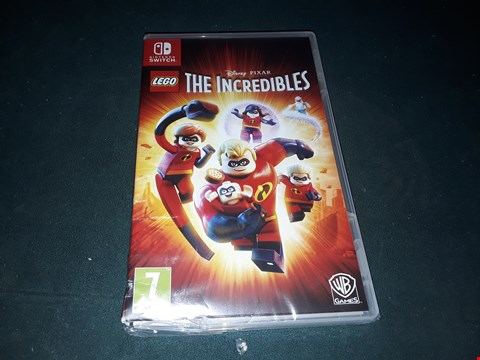 Lot 7005 BOXED NINTENDO SWITCH LEGO DISNEY PIXAR THE INCREDIBLES GAME  RRP £54.99