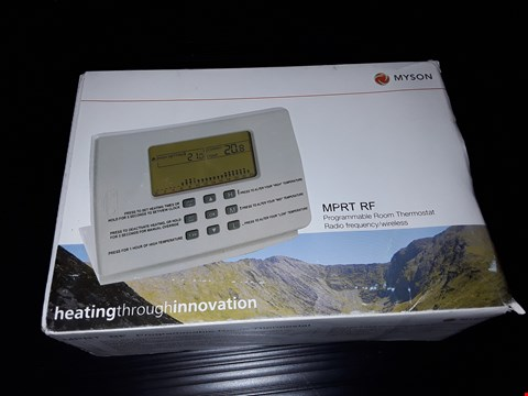 Lot 83 BOXED MYSON PROGRAMMABLE ROOM THERMOSTAT
