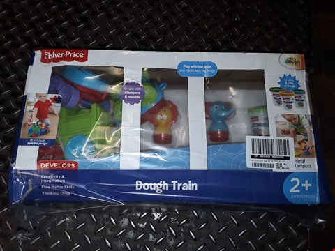 Lot 5074 FISHER PRICE TRAIN DOUGH SET  RRP £25.00