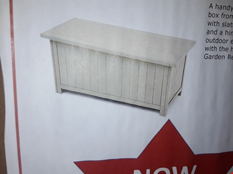Lot 5237 BOXED SAGE OUTDOOR STORAGE BOX