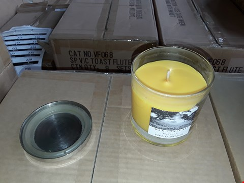 Lot 202 3 BOXES TO AMOUNT TO APPROXIMATELY 6 WAX LYRICAL ENGLAND SUMMER EVENING CANDLES