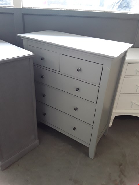 Lot 54 DESIGNER GREY FINISH 2 & 3 DRAWER CHEST