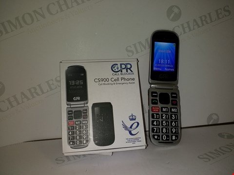 Lot 18362 CPR CALL BLOCKER CS900 CELL PHONE IN RED