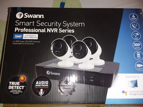 Lot 1735 SWANN SMART SECURITY PROFESSIONAL NVR SERIES SECURITY SYSTEM
