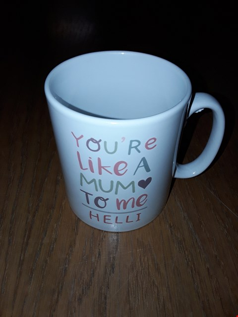 Lot 89 PERSONALISED BEST NAN MUG  RRP £13.00