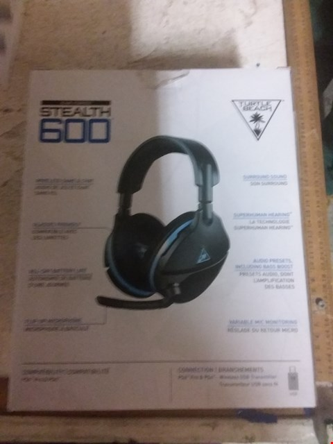 Lot 656 TURTLE BEACH EAR FORCE STEALTH 600 GAMING HEADSET