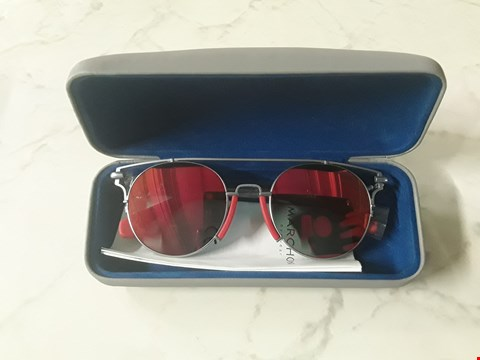 Lot 8546 CALVIN KLEIN RED BROW BAR SUNGLASSES RRP £185.00
