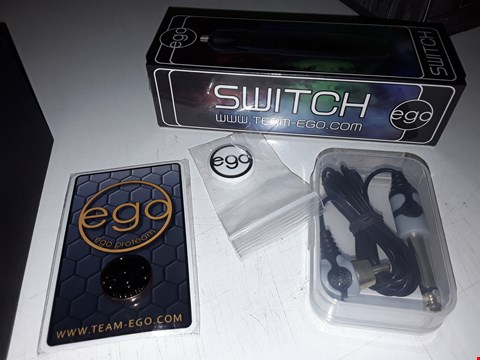 Lot 561 BOXED & SEALED TEAM EGO SWITCH WITH BADGES