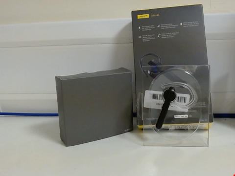 Lot 15045 JABRA TALK 45 BLUETOOTH MONO HEADSET WITH NOISE CANCELLATION AND ONE TOUCH VOICE ASSISTANT