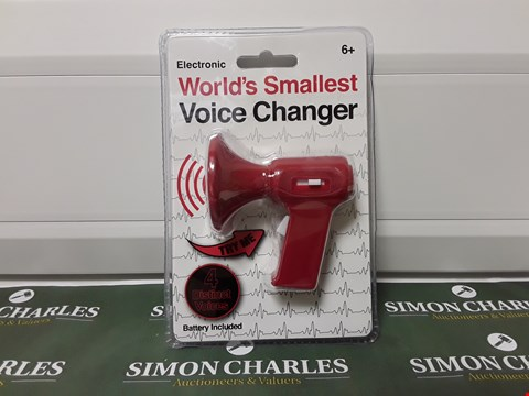 Lot 1415 ELECTRONIC WORLD'S SMALLEST VOICE CHANGER