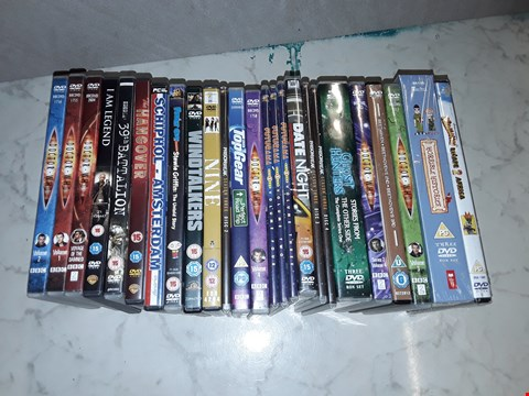 Lot 6197 LOT OF APPROXIMATELY 25 ASSORTED DVDS TO INCLUDE FUTURAMA, DOCTOR WHO AND TOPGEAR