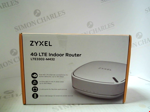 Lot 3051 ZYXEL 4G LTE INDOOR ROUTER