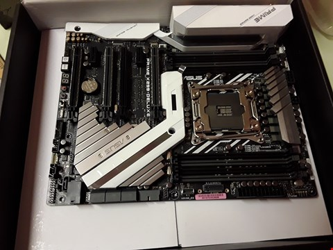 Lot 4366 ASUS PRIME X299-DELUXE DDR4 INTEL MOTHERBOARD