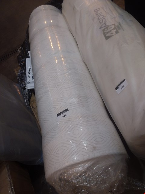 Lot 579 QUALITY BAGGED AND ROLLED CATHERINE LANSFIELD ORTHO KING SIZE MATTRESS