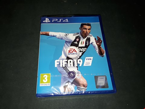 Lot 2360 FIFA 19 STANDARD EDITION FOR PS4 RRP £65