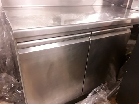 Lot 31 COMMERCIAL DOUBLE DOOR UNDER COUNTER FREEZER