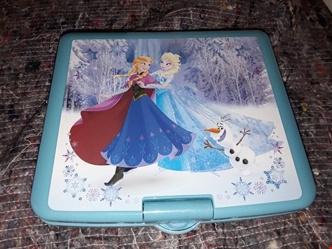 Lot 7167 BOXED GRADE 1 DISNEY FROZEN LEXIBOOK PORTABLE DVD PLAYER RRP £105
