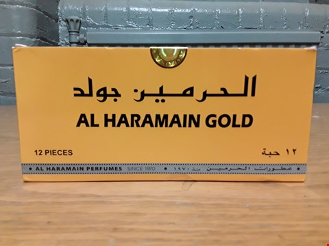 Lot 2 AL HARAMAIN GOLD 12-PIECE COLLECTION