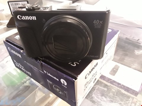 Lot 4 CANON POWER SHOT SX740 HS DIGITAL CAMERA  RRP £459.99