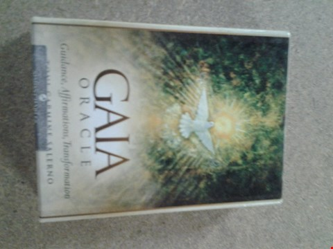 Lot 398 BOXED GAIA ORACLE CARDS