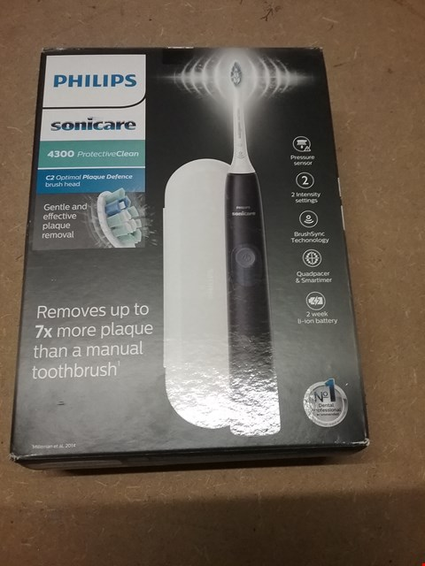 Lot 417 PHILIPS SONICARE 4300 ELECTRIC TOOTH BRUSH
