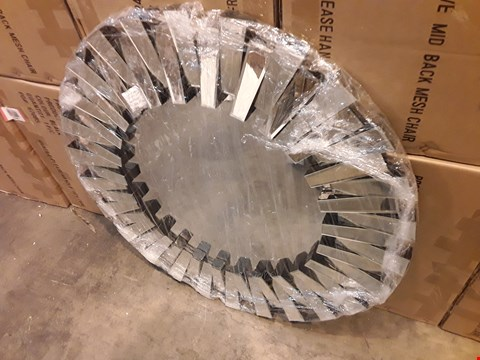 Lot 1029 BRAND NEW VENUS CIRCULAR WALL MIRROR (90X90CM) RRP £329.00